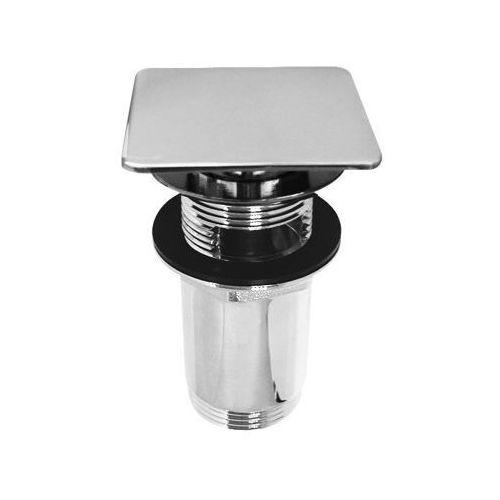 Produkt z kategorii- pozostałe artykuły hydrauliczne - Korek click-clack kwadratowy płaski Q706 Omnires chr