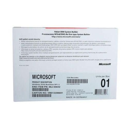 Microsoft MS Windows VISTA Business OEM SP 1 64Bit PL 1-pack (66J-08401) - sprawdź w wybranym sklepie