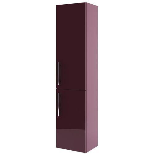 AQUAFORM szafka wysoka Amsterdam bordo (słupek) 0415-202511 - produkt z kategorii- regały łazienkowe