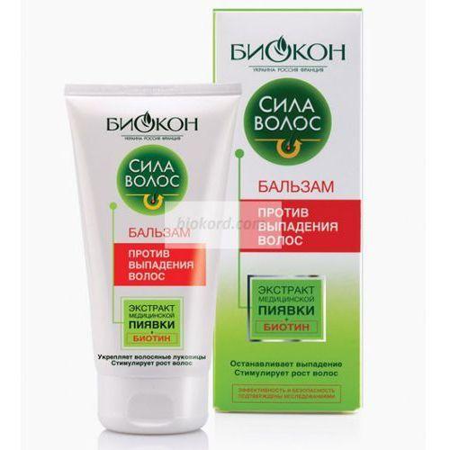 Balsam przeciw Wypadaniu Włosów, Enzymy Pijawki, Biokon - produkt z kategorii- odżywki do włosów