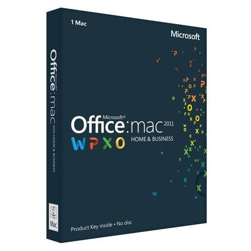 Microsoft Office Home and Business 2011 MAC 32-bit/x64 PL z kategorii Programy biurowe i narzędziowe