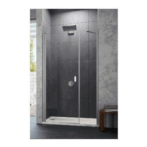 HUPPE DESIGN PURE 4-kąt,drzwi skrzydłowe z częścią boczną do wnęki 8P7201 (drzwi prysznicowe)