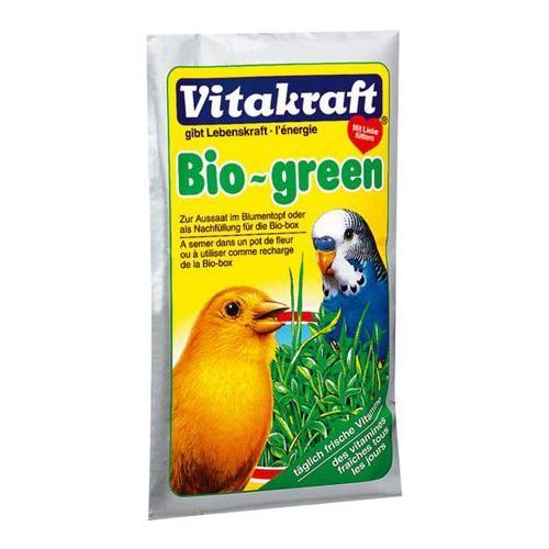Bio Green nasiona traw dla ptaków egzotycznych, Vitakraft