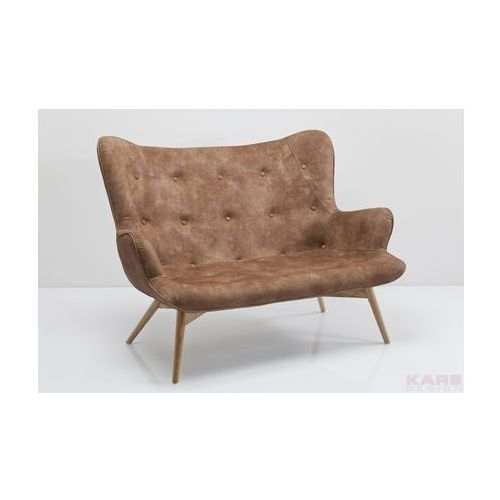 Angels Wings Sofa Brązowa 2 Osobowa - 79469, Kare Design