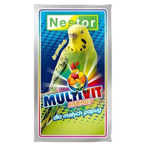 NESTOR 20g Odżywka Multivit dla papużek falistych, Nestor
