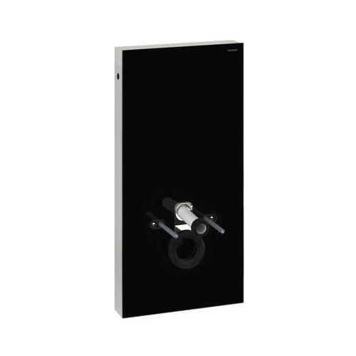 Geberit Moduł sanitarny  monolith do wc wiszącego h101 131.022.sj.1 szkło czarne / aluminium