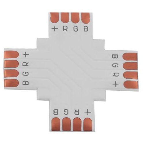 Forever Light Złączka do taśm LED RGB 4 PIN 10mm typ + 0109 z kategorii oświetlenie