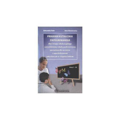 Produkt z kategorii- pozostałe oprogramowanie - Program kształcenia zintegrowanego dla I etapu edukacyjnego sześcioletniej szkoły podstawowej specjalnej
