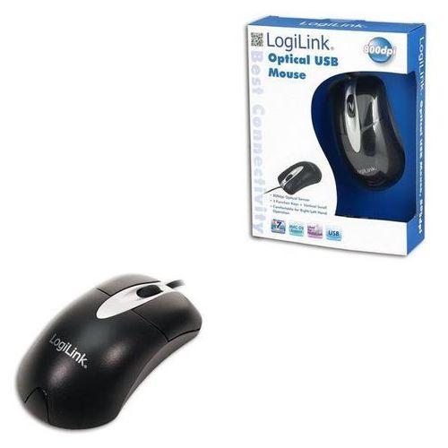 logilink Mysz optyczna LogiLink ID0011 USB, 800 dpi z kat. myszy, trackballe i wskaźniki