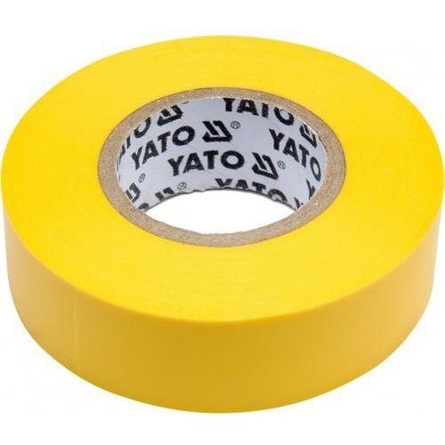 Taśma elektroizolacyjna 19mmx20mx0,13mm, żółta / SZYBKA WYSYŁKA / BEZPŁATNY ODBIÓR: WROCŁAW, kup u jednego z partnerów