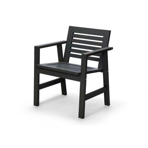Towar Skagerak NORIDC Krzesło Ogrodowe - Fotel Czarny z kategorii pozostałe meble ogrodowe