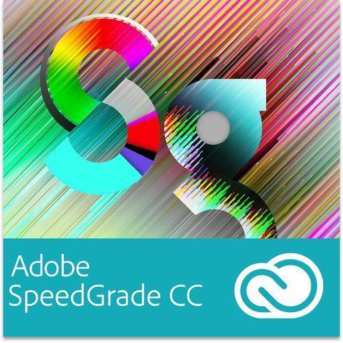 Produkt z kategorii- pozostałe oprogramowanie - Adobe SpeedGrade CC EDU for Teams Multi European Languages Win/Mac - Subskrypcja (12 m-ce)