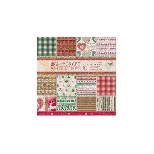 Oferta Zestaw papierów Papermania CRAFT CHRISTMAS 15,2x15,2 cm 32 kartki