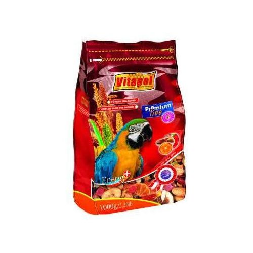VITAPOL Pokarm Premium dla dużych papug 750g