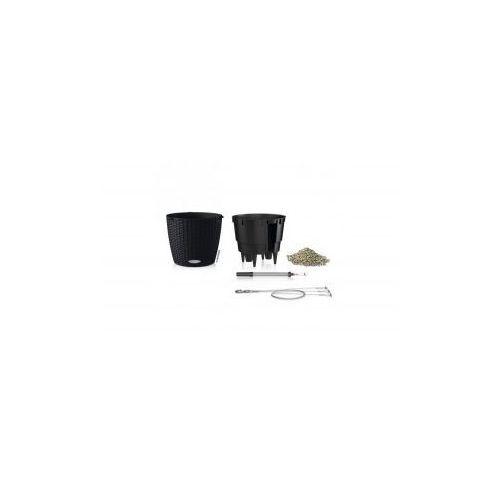 Produkt Donica -  - Nido Cottage - czarna, marki Lechuza