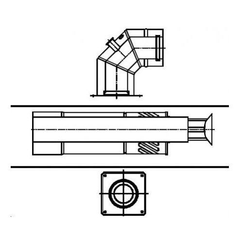 Oferta Termet Poziome wyprowadzenie powietrzno - spalinowe (60/100) z kat.: ogrzewanie
