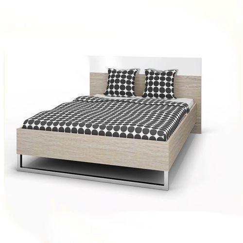 STYLE łóżko 160x200cm zestaw - dąb sonoma ze sklepu Meble Pumo