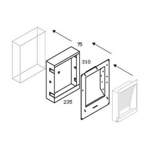 Concrete Box 139 z mocowaniem, Delta Light