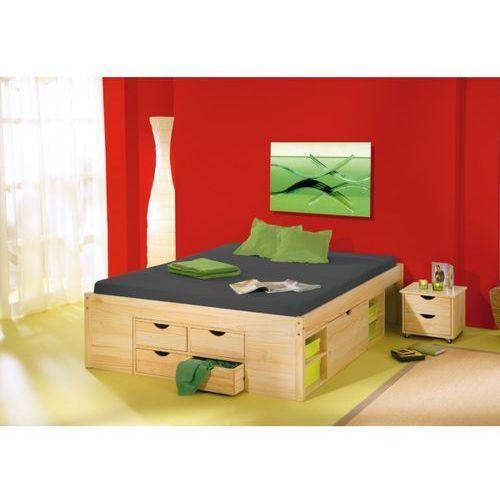 Łóżko Modulo, 180x200 cm, naturalne ze sklepu FUTURI Nowoczesne Meble
