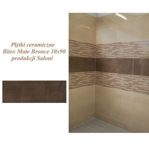 Bitex Mate Bronce 30x90 BLK260, Płytki ceramiczne produkcji Saloni (glazura i terakota)