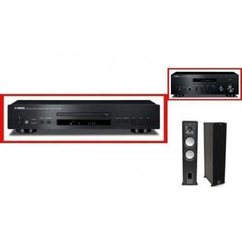 YAMAHA R-S500 + CD-S300 + KLIPSCH KF26 - Tanie Raty za 1%