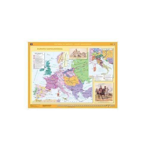 Produkt Europa napoleońska / Europa po kongresie wiedeńskim. Mapa ścienna Europy, marki Nowa Era