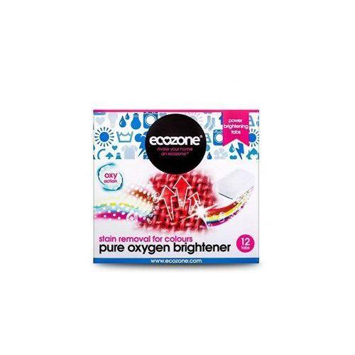 Odplamiacz do kolorów Pure oxygen - 12 tabletek - , Ecozone z HerbalBeauty.pl