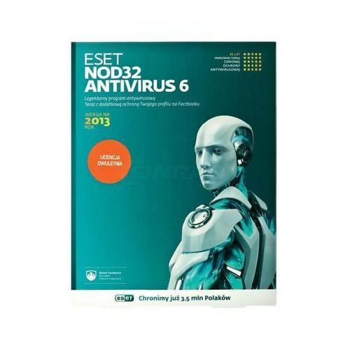 Oferta ESET NOD32 Antivirus 1 user, 24 m-cy, BOX [c55c4175377572d7]