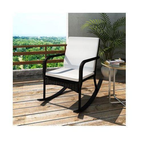 Fotel bujany, ogrodowy z poduszką, produkt marki vidaXL