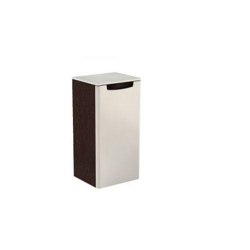 KOŁO szafka wisząca boczna niska Rekord biały połysk/wenge - półsłupek 88396/88398 - produkt z kategori