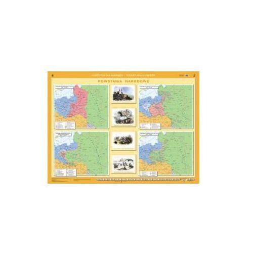 Produkt Powstania narodowe. Mapa ścienna., marki Nowa Era