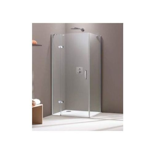 HUPPE AURA ELEGANCE - Drzwi skrzydłowe ze stałym segmentem do ścianki bocznej 400301 (drzwi prysznicowe)