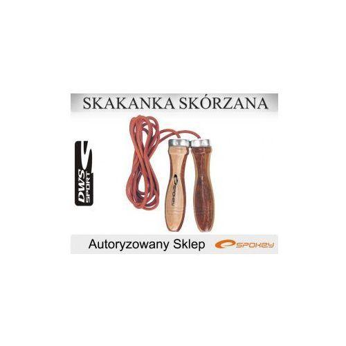 Produkt SKAKANKA SKÓRZANA Z ŁOŻYSKAMI QUICK SKIP II SPOKEY, marki Spokey