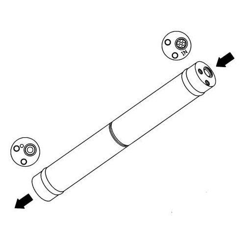 Towar z kategorii: osuszacze powietrza - Osuszacz, klimatyzacja NRF 33141