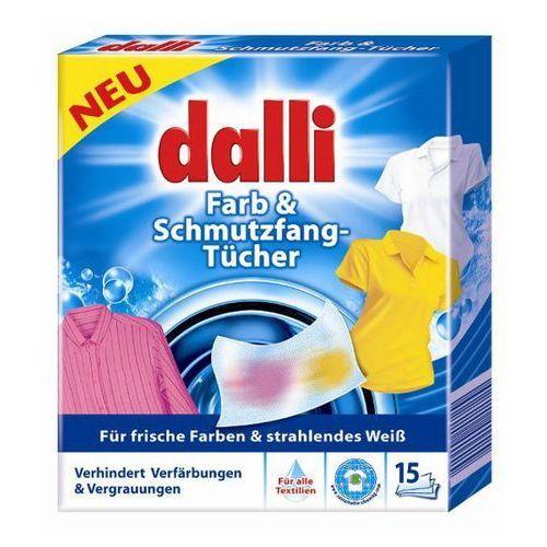 Towar DALLI 15szt. Niemieckie Chusteczki do prania (15 prań) z kategorii wybielacze i odplamiacze
