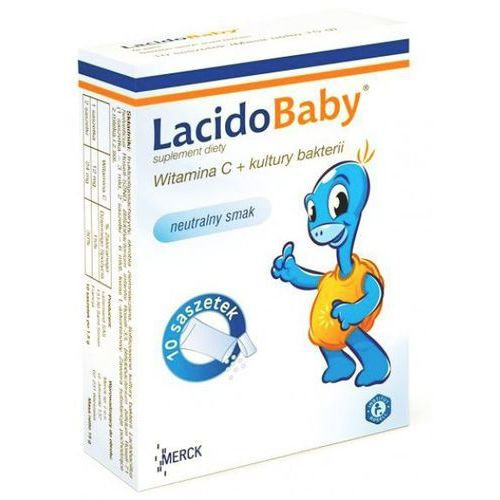 [proszek] LacidoBaby smak neutralny z witamina C proszek 10 saszetek