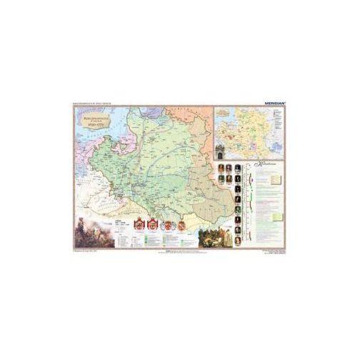 Produkt Rzeczpospolita w XVII i XVIII w. / Europa do połowy XVIII w. Mapa ścienna., marki Meridian
