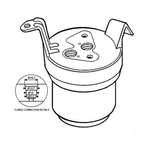 Towar z kategorii: osuszacze powietrza - Osuszacz, klimatyzacja NRF 33021
