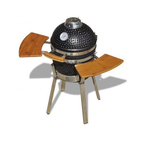 Grill ceramiczny Kamado, wysokość 76 cm, produkt marki vidaXL