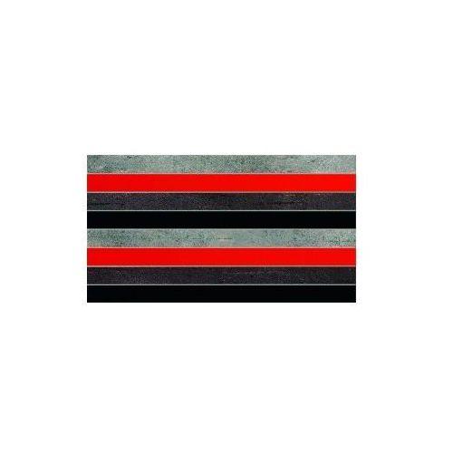 Tubądzin Dekor ścienny Braid Red 32,7x59,3 cm (glazura i terakota)