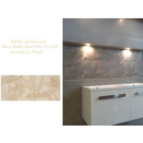 Płytki ceramiczne Decor Studio Sand Flor 31,6x90 G079 produkcji FANAL (glazura i terakota)