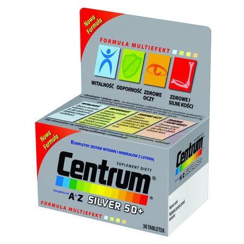 Centrum kompletne od A do Z Silver 50+ Multiwitamina 30 tabletek, postać leku: tabletki