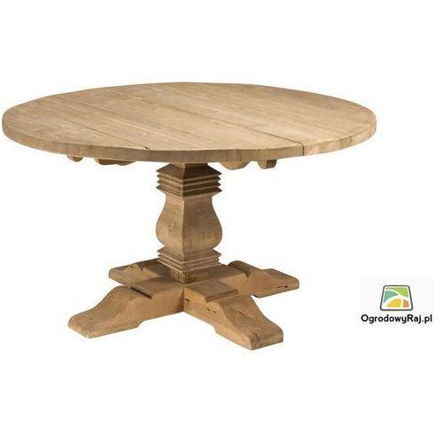 Stół drewniany teakowy PALU 150x78 cm PALU-STOL.OB-SR150-TEAK WHITE (stół ogrodowy)