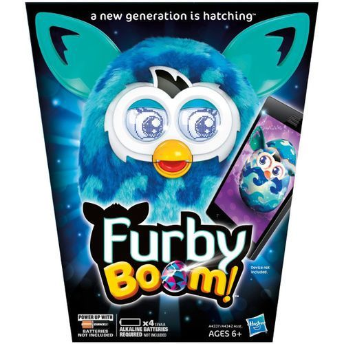 HASBRO Furby Boom Sweet Niebieskie fale (A4342) - produkt dostępny w Puchatkolandia.pl