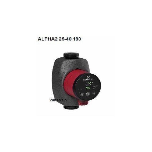 Towar Grundfos ALPHA2 25-40 pompa obiegowa 97704990 z kategorii pompy cyrkulacyjne