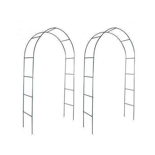 Pergola ogrodowa, łuk dla pnącz (2 szt), produkt marki vidaXL