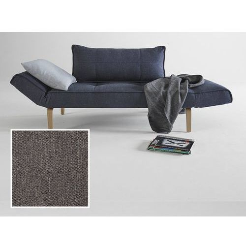 Sofa Zeal szara 216 nogi dąb lakierowany  740021216-2-740020-5, INNOVATION iStyle