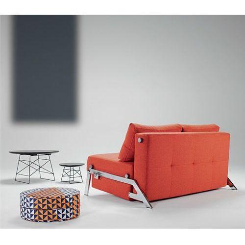 Istyle Innovation Istyle Cubed Sofa Rozkładana Tkanina Pomarańczowa lub Beżowa 140x104 (4250268301739)