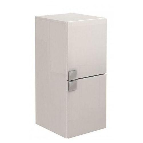 KOŁO szafka wisząca boczna niska Primo biały połysk - półsłupek 88180 - produkt z kategorii- regały ł