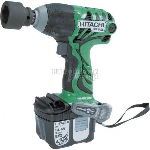 Produkt HITACHI Akumulatorowa zakrętarka udarowa 1/2`` 14,4 V (2 akumulatory Li-Ion 4,0 Ah) WR14DL2
